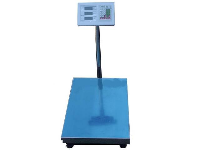 бу Торговые электронные весы до 300 кг со стойкой Kronos (gr_002611)  в Украине