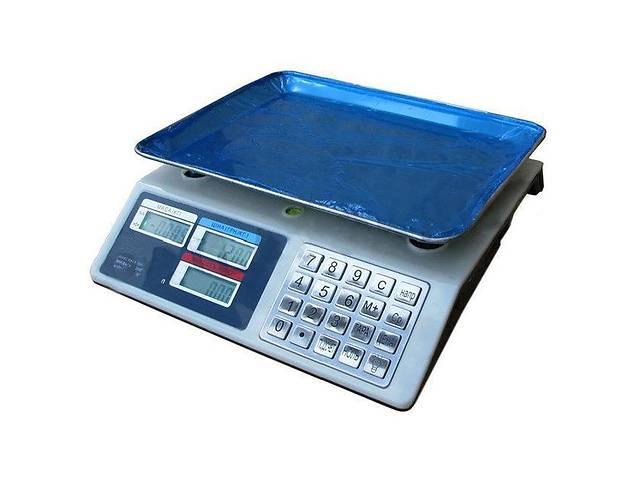 Торговые электронные весы до 50 кг Kronos 982S Metall Button (gr_006069)- объявление о продаже  в Киеве