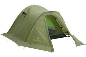 Удобная трехместная палатка Ferrino Tenere 3 Green 923821, зеленый