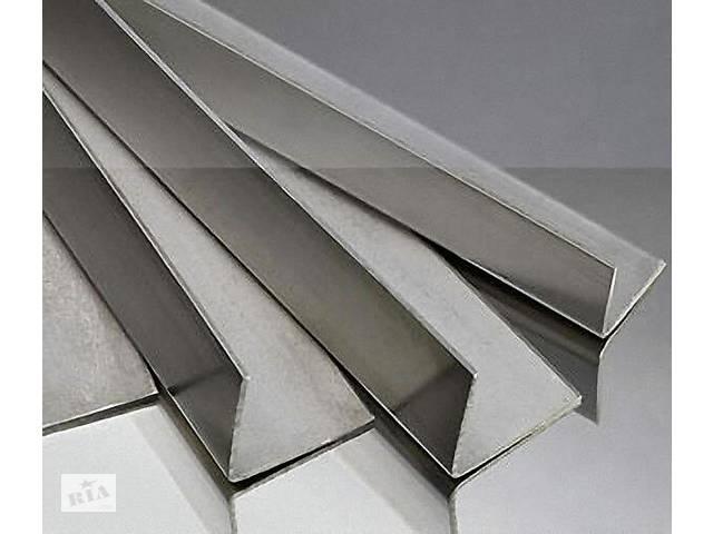 продам Уголок алюминиевый равносторонний , разносторонний, анодированный (АД31, Д16) бу в Херсоне