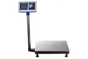 Ваги для ринку торгові електронні А-Плюс 1658 до 300кг зі стійкою підлогові базарні