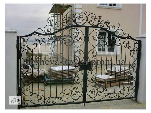 купить бу Въездные ворота с калиткой в Виннице