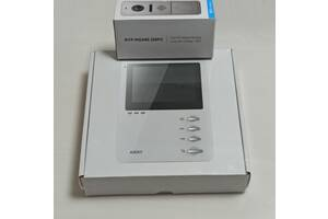 Домофон ARNY AVD-410 і відеопанель 2Mpx FullHD з відеоглазка антивандальна