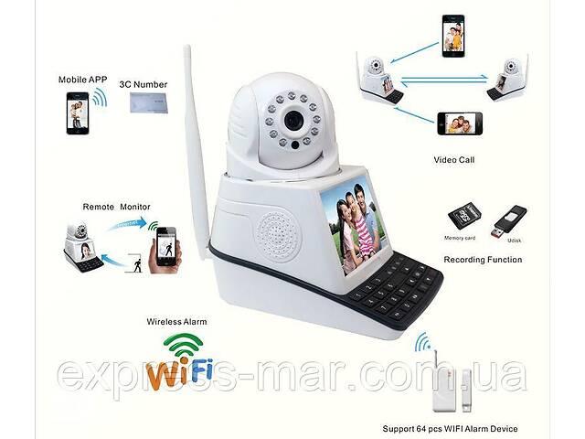 купить бу Відеокамера з екраном NET CAMERA запис на TF мапу / сигналізація з датчиком руху / ІК підсвічування в Харкові
