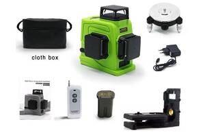 Zokoun GF120 3D Лазерный Уровень 12 Зеленых Линий Clubiona GF360