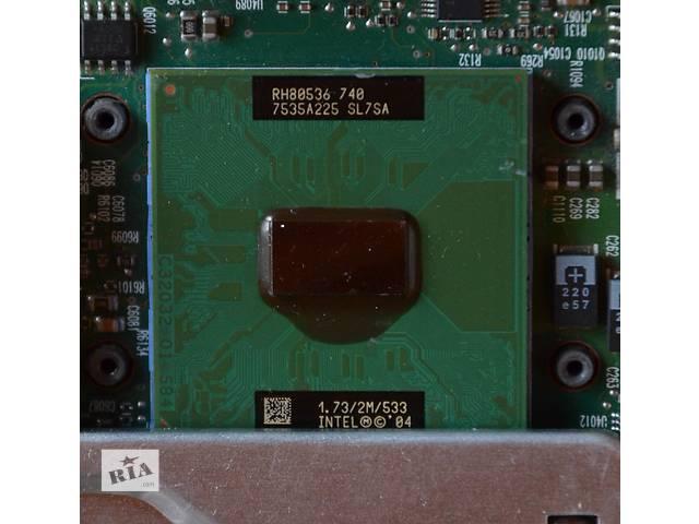 купить бу Intel Pentium M 740, 1,73 Ghz, процесор для ноутбука в Львове