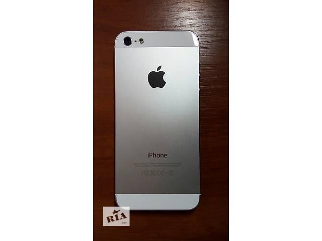 IPhone 5, 16GB Neverlock Silver (серый) недорого! продам срочно!- объявление о продаже  в Виннице