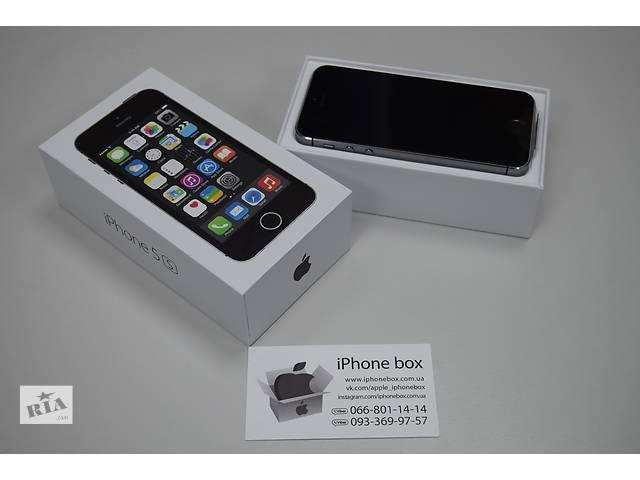 продам iPhone 5S 16GB Neverlock в ПОДАРОК защитное стекло, Гарантия, Магазин бу в Ровно
