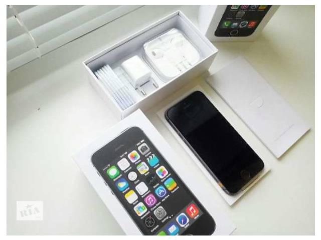 продам Iphone 5S (16GB-32GB) Space Gray Neverlock Original Новый бу в Кременчуге