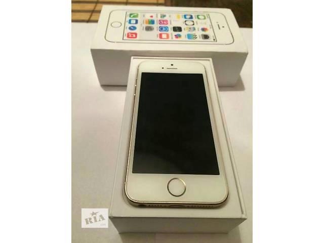бу Iphone 5s gold 16Gb  в Львове