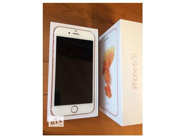 продам  iPhone 6s 64Gb Rose Gold Neverlock бу в Луганске