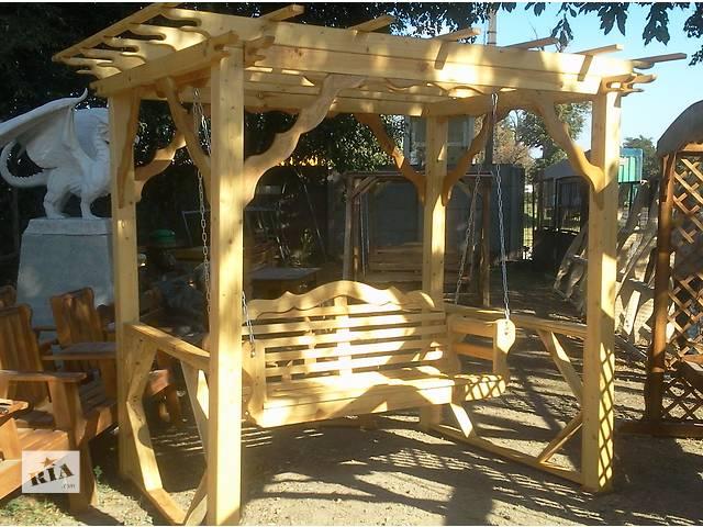 бу Качели для дачи из дерева в Виннице