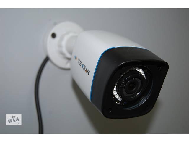 купить бу Камера видеонаблюдения уличная Tecsar AHD 1Mp в Чернигове