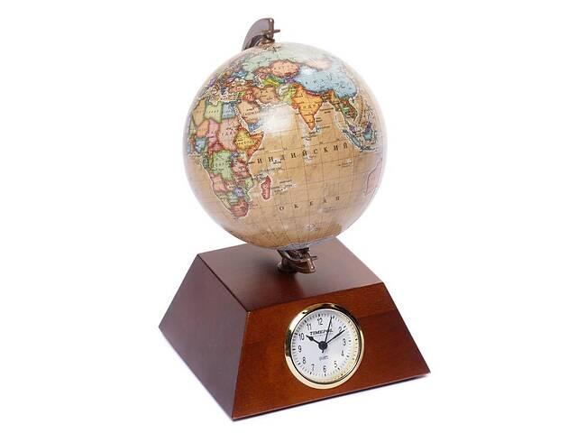 Глобус с часами 110 мм пирамида (рус.) BST 540077- объявление о продаже  в Одессе