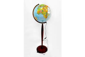 Глобус с подсветкой напольный 320 мм политико-физический (рус.) BST 540123