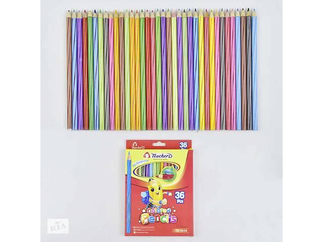 Карандаши цветные 0692 (180) 36шт в упаковке, 36 цветов- объявление о продаже  в Одессе