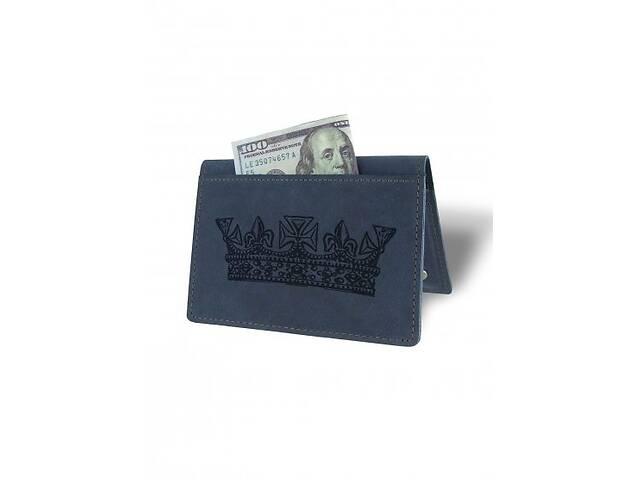 продам Холдер-паспорт Король М01 синий SKL47-177975 бу в Киеве