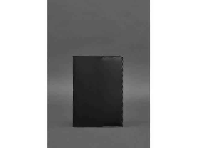 Кожаная обложка для блокнота 6.0 (софт-бук) черная Crazy Horse BlnkntBN-SB-6-g-kr- объявление о продаже  в Киеве