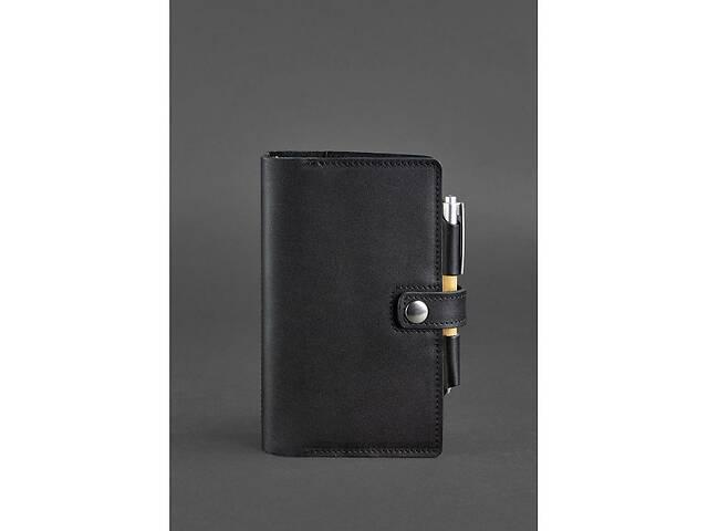 Кожаный блокнот (Софт-бук) 4.0 черный BlnkntBN-SB-4-g- объявление о продаже  в Киеве