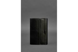 Кожаный блокнот софт-бук 7.0 угольно-черный BlnkNtBN-SB-7-ygol