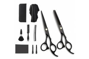 Набор профессиональных парикмахерских ножниц Lantoo + аксессуары 10 шт (LFJ-133)