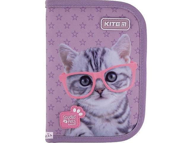 купить бу Пенал без наполнения Kite Education Studio Pets, разноцветный в Киеве