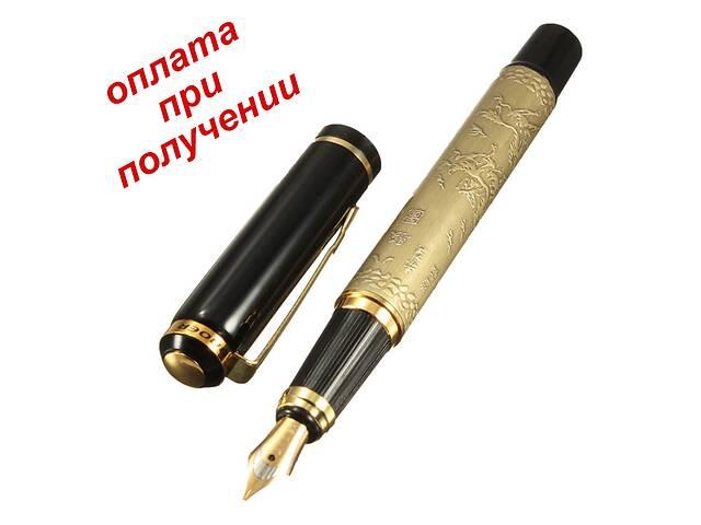 купить бу Ручка авторучка перо перьевая BAOER под Parker Паркер металл с гравировкой в Бердянске
