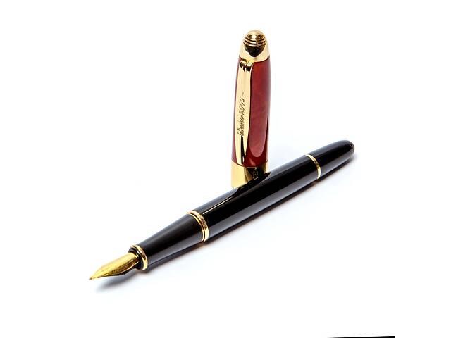 бу Ручка перьевая подарочная в футляре DUKE 89B-F 135 мм чёрно-красная в Одессе