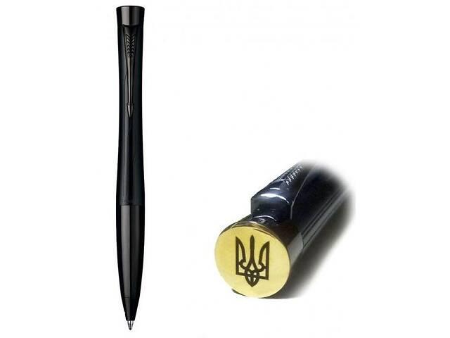 продам Шариковая ручка Parker Urban Premium Matt Black Bp Трезубец на торце бу в Киеве
