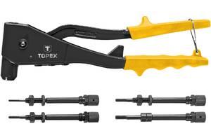 Topex 43E110 Заклепочник для резьбовых заклепок M3, M4, M5, M6