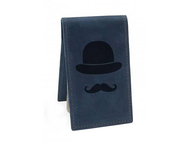 купить бу Визитница Джентльмен М01 синяя SKL47-177632 в Киеве