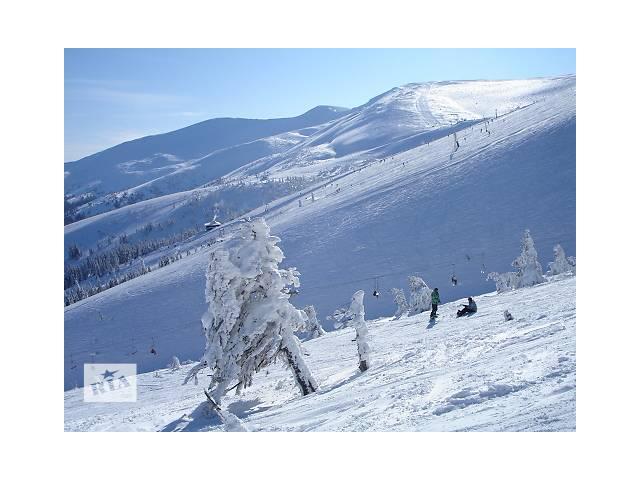бу Карпаты — зима 2018 — драгобрат  в Украине