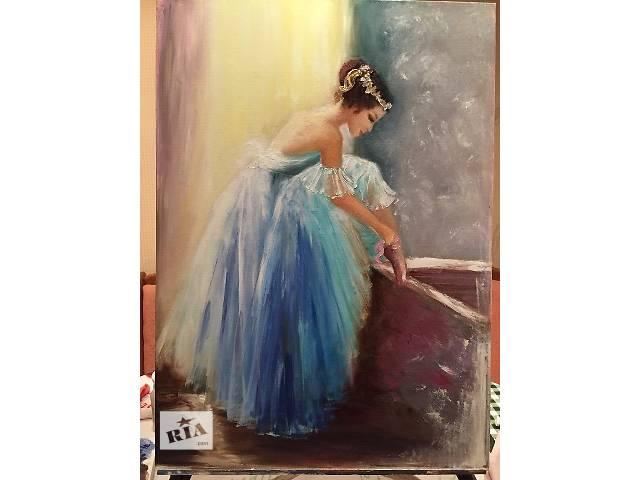 купить бу Картина Балерина в воздушном платье в Киеве