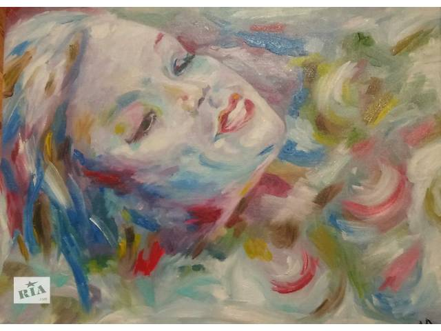 купить бу картина маслом портрет в Киеве