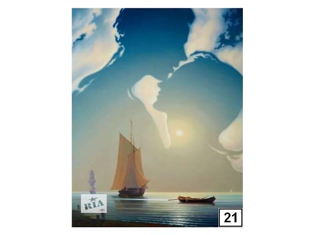 купить бу Картины раскраски по номерам 50x65см в Харькове