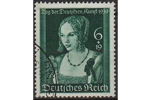 1939 - Рейх - День немецкого искусства Mi.700 _13,0 EU