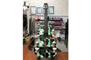 (3597) Гітара з Росписью Нові Колки та Струни