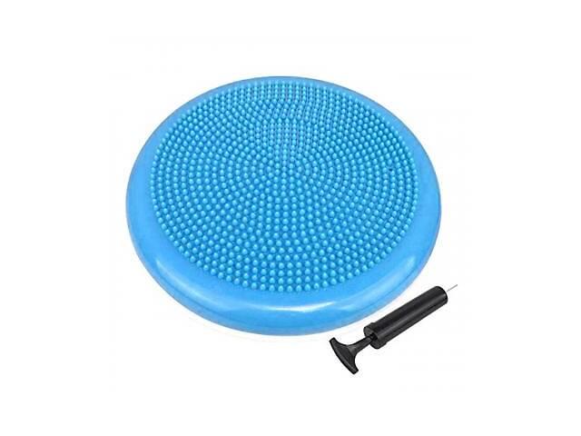 купить бу Балансировочный диск PowerPlay массажная подушка Blue (PP_4009_Blue) в Харькове