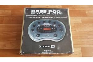 Бас-гітарний процесор LINE6 Bass Pod Ultimate tone for bass