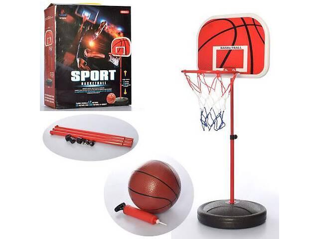 бу Баскетбольное кольцо на стойке для мальчика MR 0325 (высотой 170 см) в комплекте с мячом, сеткой и насосом в Одессе