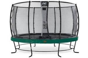Батут EXIT Elegant Premium 427cm& nbsp; green (Нідерланди)