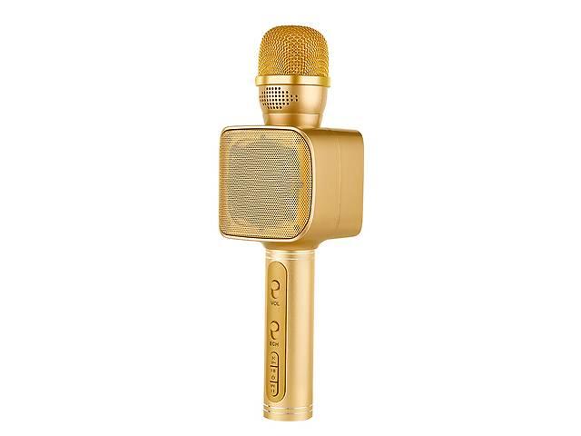 продам Беспроводной караоке микрофон с колонкой Magic Karaoke YS-68 Вокальный с мембраной низких частот Gold  (47472-IM) бу в Киеве