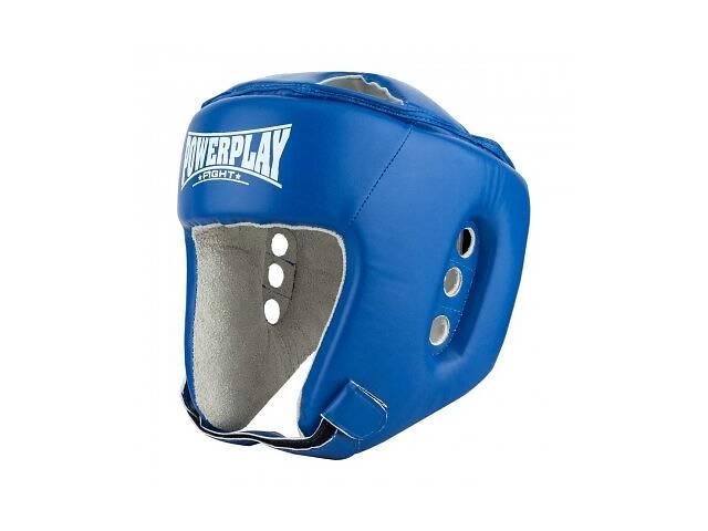 Боксерский PowerPlay шлем тренировочный cиний L 3084 SKL24-190065- объявление о продаже  в Харькове