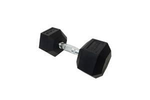 DD 6442-12.5 | Гантель шестигранна обрезиненна 12,5 кг