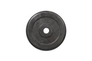 Диск обрезиненный HouseFit 5 кг