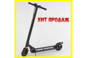 """Электросамокат 27534 """"Best scooter"""", колеса 6,5"""", ЧЁРНЫЙ Хит Продаж  Новинка этого года!"""