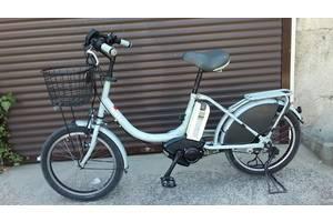 Электровелосипед BRIDGESTONE с курком газа мотор Yamaha.