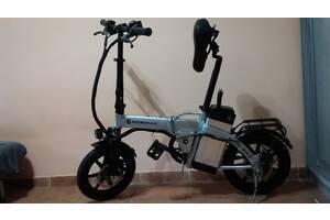 Электровелосипед MOBIMAX 14 колеса 300 W 48v с ручкой газа .