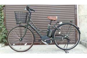 Электровелосипед YAMAHA PAS Ami Matt Olive из Японии.