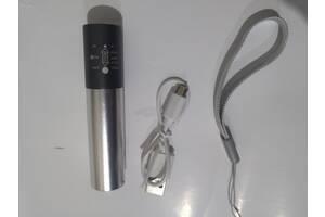 Фонарь фонарик LED ЛЕД компактный светодиодный перезаряжаемый